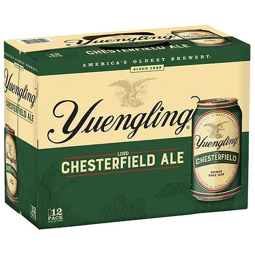 Yuengling Lord Chesterfield 12 Pack 12 oz Cans