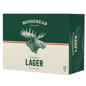 Moosehead Lager 12 Pack 12 oz Cans