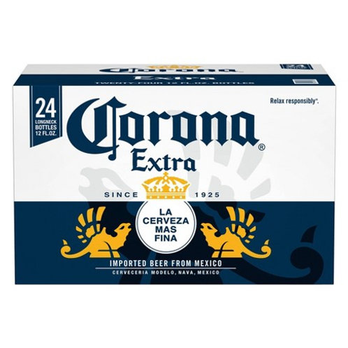 Corona Extra  24 Pack 12 oz Bottles