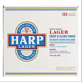 Harp  12 Pack 12 oz Bottles