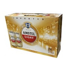 Amstel Light 24 Pack 11.2 oz Cans