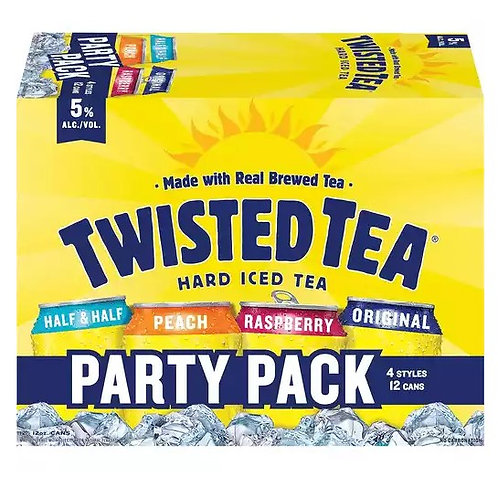 Twisted Tea Party Pack  12 Pack 12 oz Cans