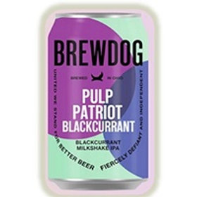 Brew Dog Pulp Patriot Blackcurrant 6 Pack 12 oz Cans