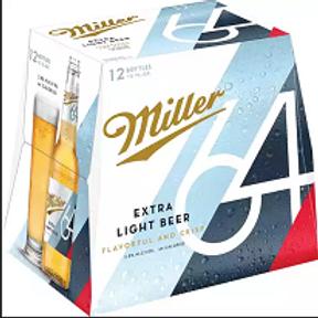 Miller 64 12 Pack 12 oz Bottles