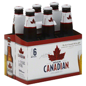 Molson Canadian 6 Pack 12 oz Bottles
