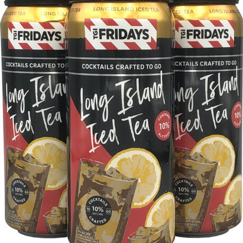 TGIF Long Island Iced Tea 4 Pack 16 oz Cans