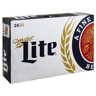 Miller Lite 24 Pack 12 oz Cans