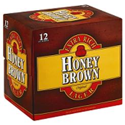 Dundees Honey Brown  12 Pack 12 oz Bottles