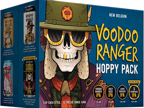 New Belgium Hoppy Pack 12 Pack 12 oz Cans