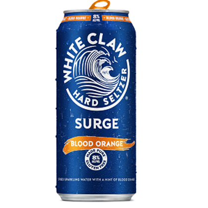 White Claw Surge Blood Orange 4 Pack 16 oz Cans