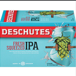 Deschutes Fresh Squeezed 6 Pack 12 oz Cans