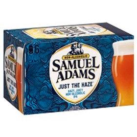 Sam Adams Just The Haze 6 Pack 12 oz Cans