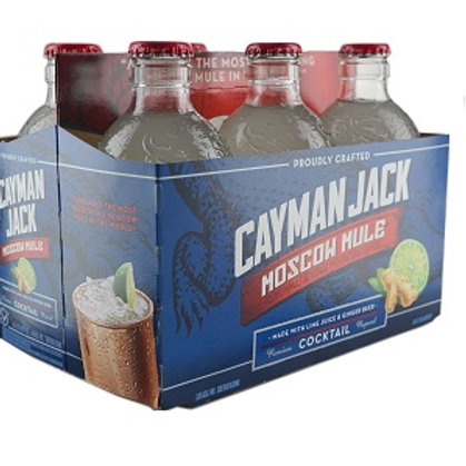 Cayman Jack Moscow Mule 6 Pack 12 oz Bottles
