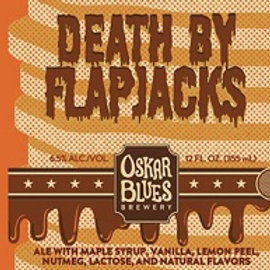Oskar Blues Death by Flapjack Ale 4 Pack 12 oz Cans