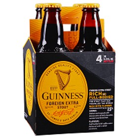 Guinness Foreign Stout 4 Pack 11.2 oz Bottles