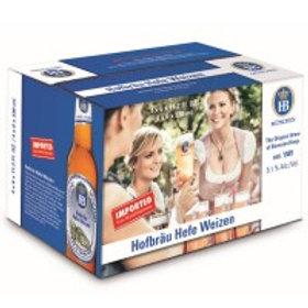 Hofbrau Hefeweizen 24 Pack 11.2 oz Bottles