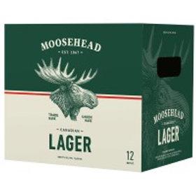 Moosehead Lager 12 Pack 12 oz Bottles