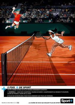 Sport + campagne 360