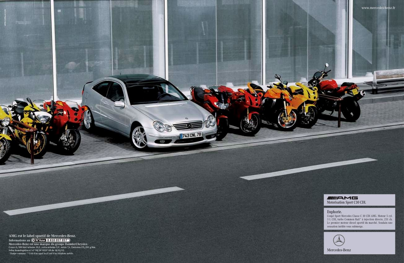 Mercedes-Benz AMG campagne gamme