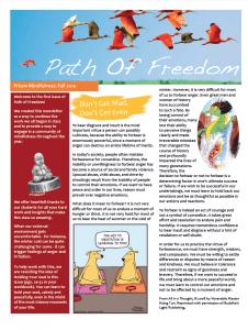 POF Newsletter Spring