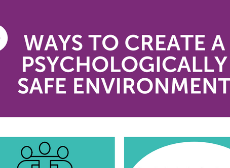 5 ways to create Psychological Safety