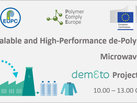 DEMETO: Modular, Scalable and High-Performance De-Polymerisation by Microwave Technology Final Event