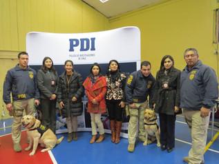 PDI Visita nuestro Colegio