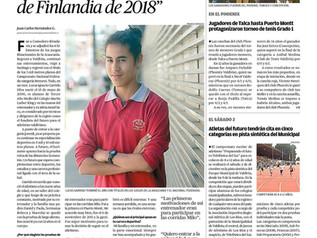 """Mi primer objetivo es clasificar al Mundial Juvenil de Finlandia de 2018"""