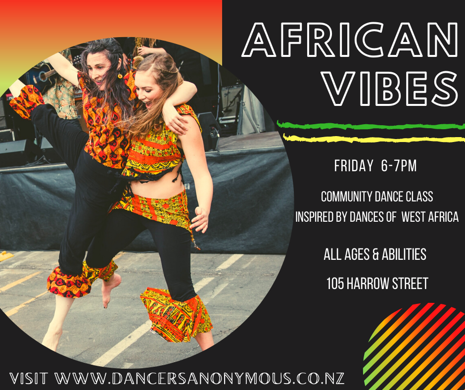 African Vibes - Community Dance Friday
