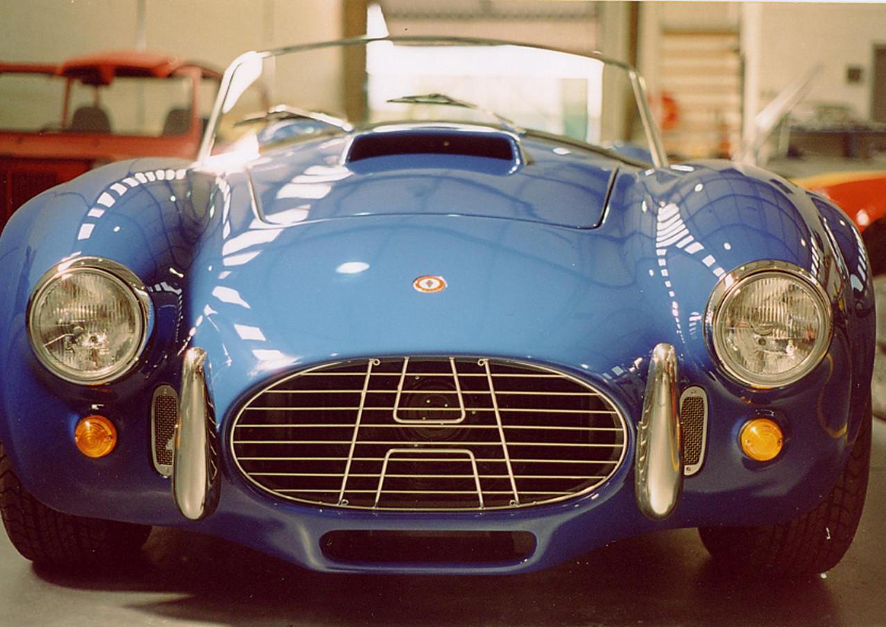 Cobra Blue front