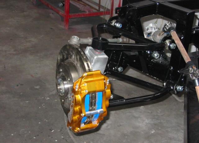 Cobra suspension