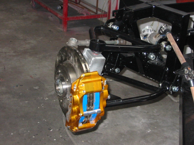 Cobra suspension