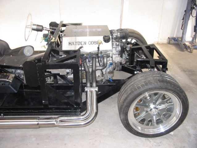 Cobra chassis on wheels
