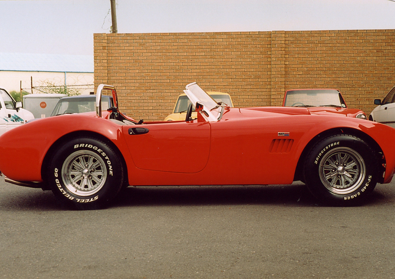 Red Cobra side view