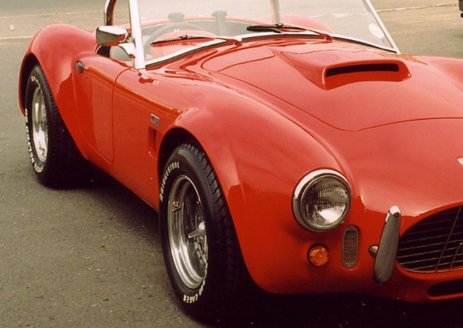 Cobra red front view