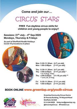 2020 GC Healthy Holidays Circus Flyer 2.