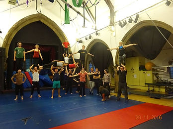 Forma Fortis acrobalanace workshop