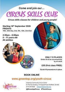2020 GC 20_09 Circus Skills Club Flyer A