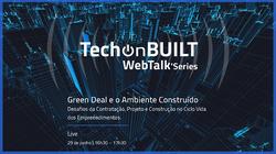 Green Deal e o Ambiente Construido