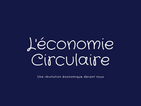 The Circular Economy: A revolution in the making