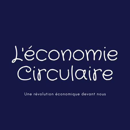 L'économie circulaire :une révolution économique devant nous
