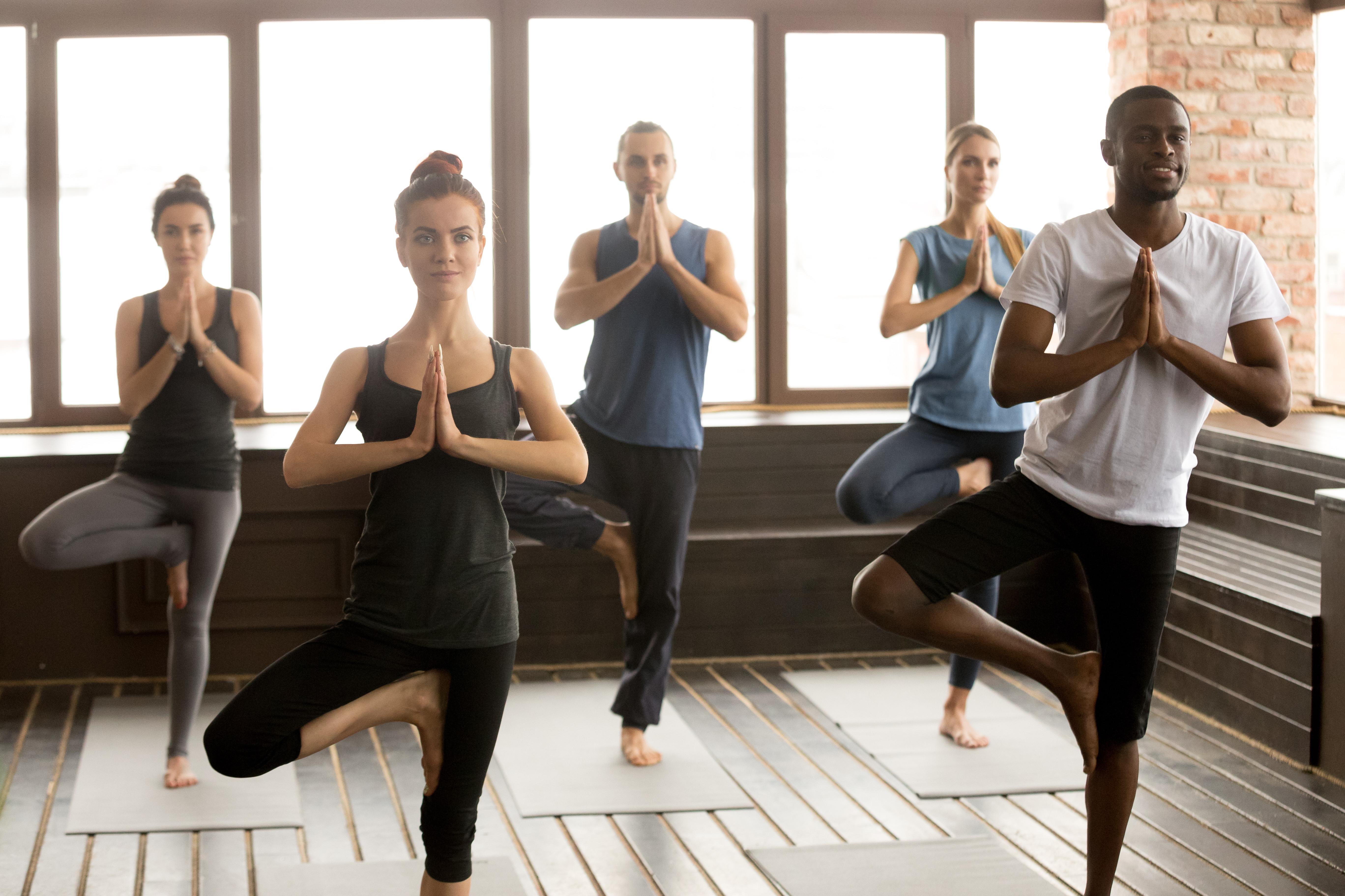 New beginnings Monday Eve Yoga