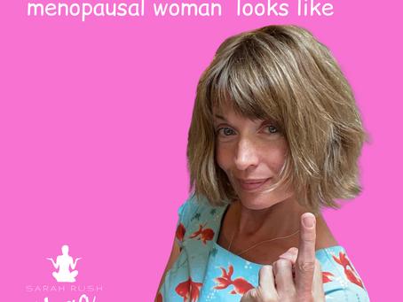 A menopausal woman