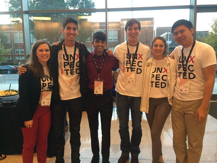 Christie and the Young Fellows make literally everything happen at TEDxSMU and I couldn't thank them enough for putting on such a wonderful_