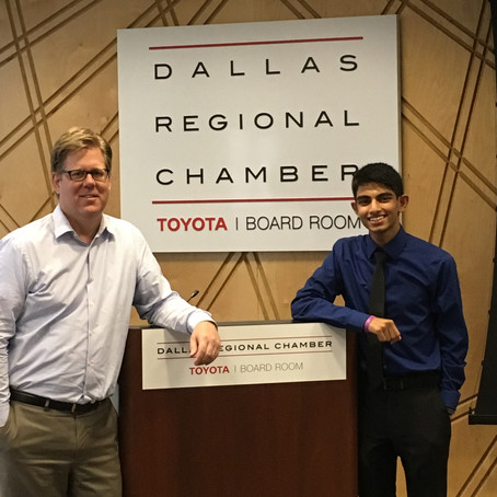 Interning at the Texas Research Alliance
