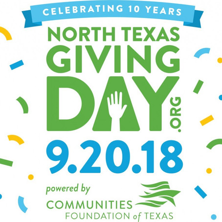 North Texas Giving Day: there's no better time to give
