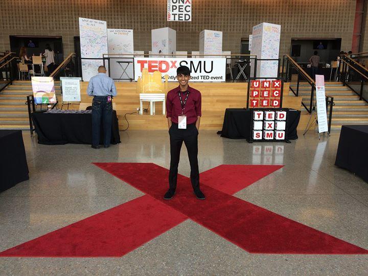 It's hardly UnXpected that I'm at TEDxSMU