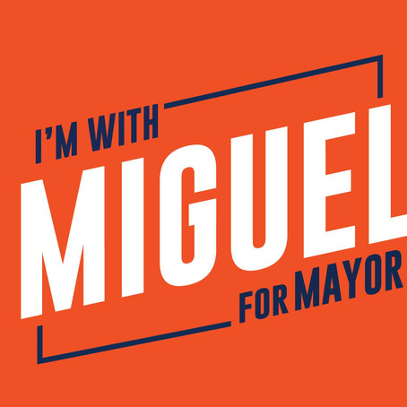 I'm with Miguel, and I hope you are too