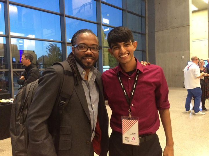 I'm a HUGE fan of public radio, and to finally meet the man behind State of the RE_Union was a dream come true!!