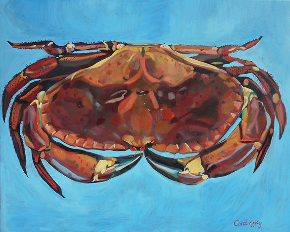 crab by R.Cordingley copyright protected